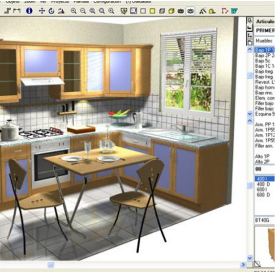 Programa diseo cocinas programa diseno muebles de cocina for Software para disenar cocinas gratis