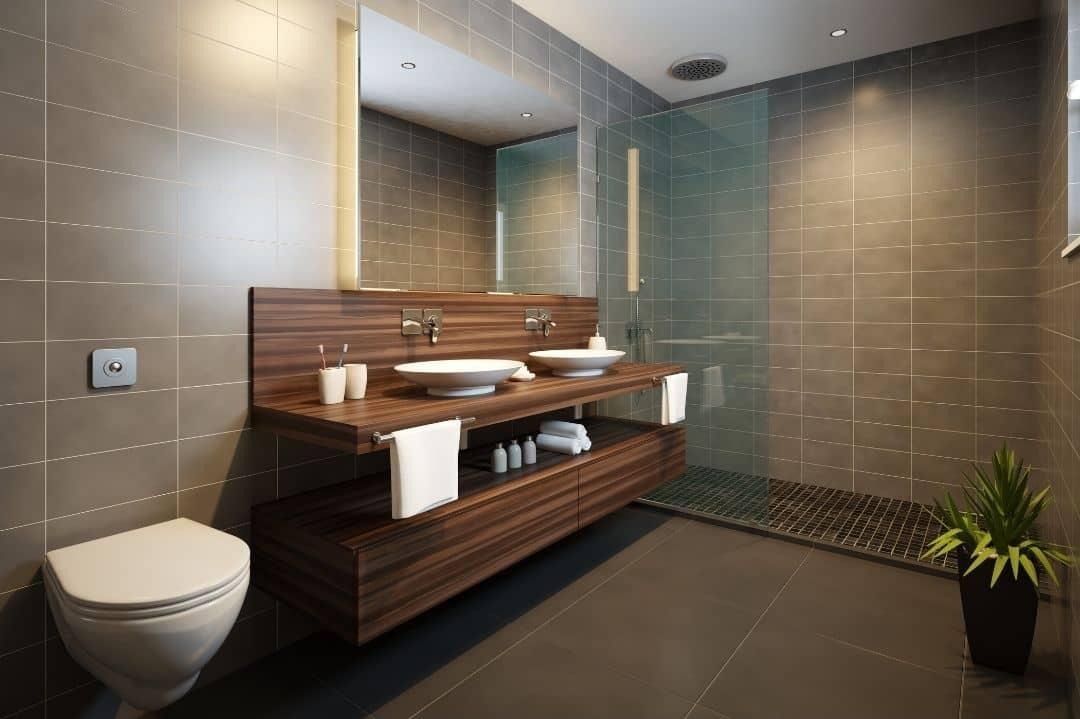 Creación de muebles de baño
